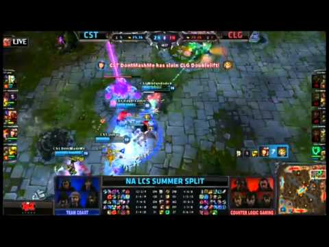 Hình ảnh trong video Doublelift Got Outplayed By A Bunch Of Kids
