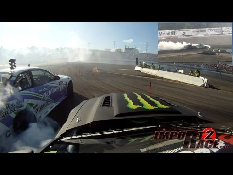 Mustang vs Lexus SC300 drifting FD (GoPRo)