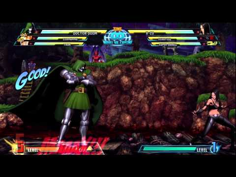 Marvel vs Capcom 3 - Doctor Doom Special
