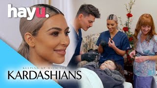 Mortician For A Day | Season 15 | Keeping Up With The Kardashians