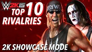 WWE 2K15 Top 10 Rivalries (2K Showcase Mode)