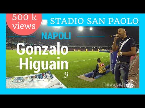 Golazo di Gonzalo Higuain in Napoli Atalanta (primo gol al San Paolo in serie A)