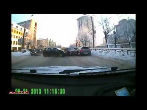 Подборка аварий и ДТП январь 2013/1 Car Crash compilation