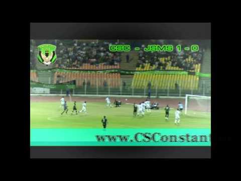 CSC 1 - JSMS 0 - But de Boulaâouidat