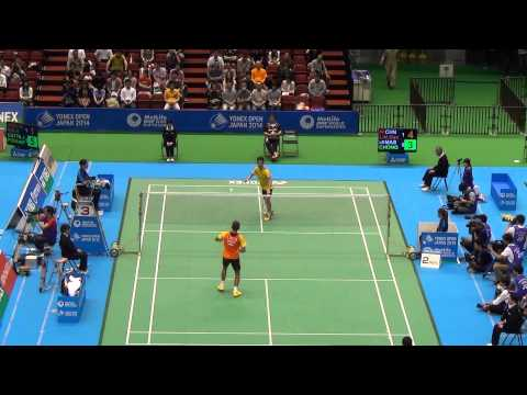 [HD] R16 - MS - Lin Dan vs Chong Wei Feng - 2014 Badminton Japan Open