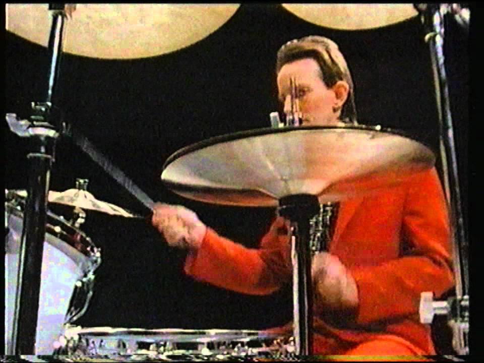 Topper Headon Drumming Man