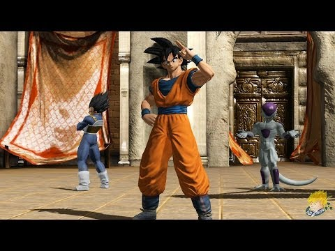 J-Stars Victory Vs :Goku, Vegeta, Frieza Vs Naruto, Sasuke, Madara Uchiha Gameplay