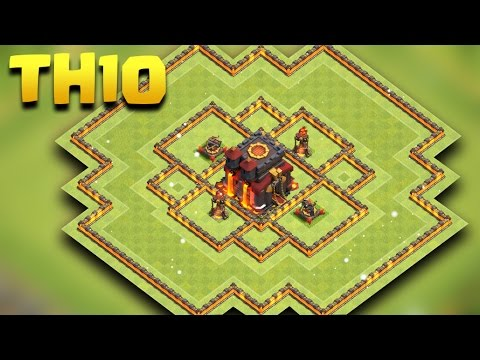 Town Hall 10 Hybrid Base   COC TH10 Farming Base NEW 2017   Clash Of Clans