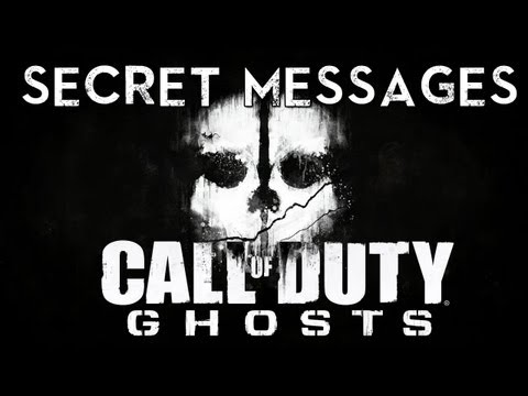 Call of Duty Ghosts: Secret Messages Revealed?!