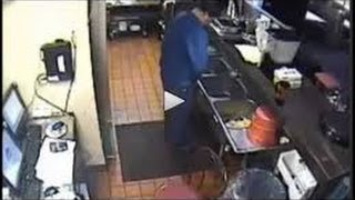[Shocking Video of Local Pizza Hut Employee urine in Kitchen sink] Video