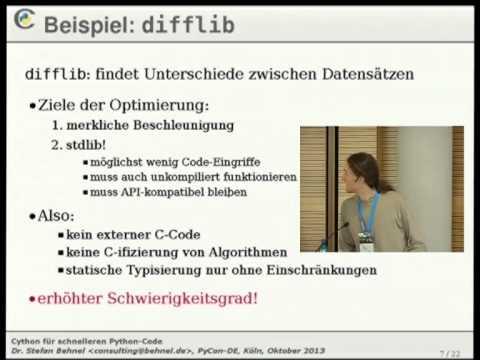 Image from Cython für schnelleren Python-Code