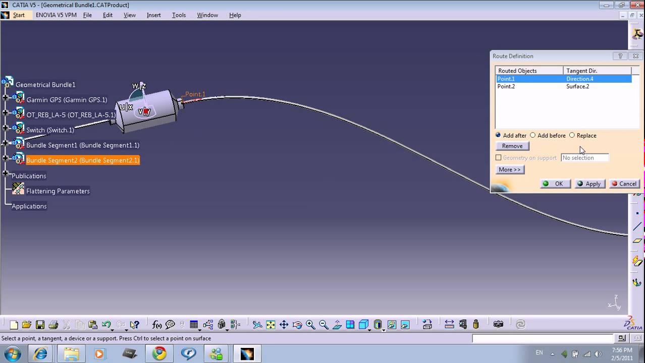 Catia V5 Wiring Harness Design : Catia v training part youtube