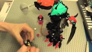 Lego Hero Factory Splitter Beast Vs Furno & Evo Review