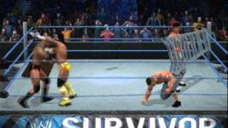 Nexus Vs John Cena & Randy Orton Tag Team TLC (WWE