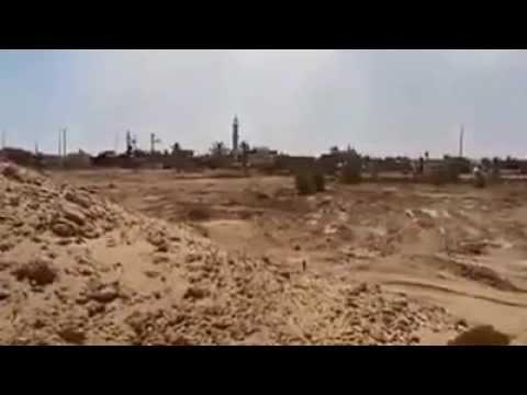 جندي إسرائيلي يصوّر لحظة قصف مسجد في غزة