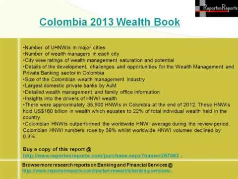 2013 Colombia Wealth Book- Wealth Management Market