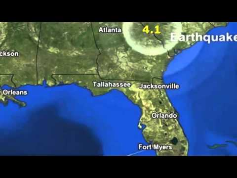 4.1 magnitude earthquake strikes in South Carolina - 16 February 2014