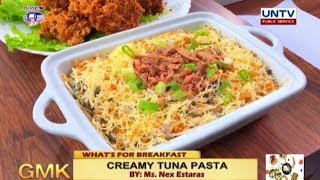 How to cook Creamy Tuna Pasta | What's For Breakfast