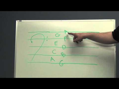 BSOM Instrument FUNdamentals - Music Theory Lesson - Reading the Bass Clef
