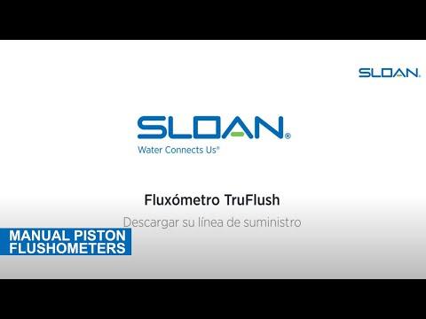 Sloan TruFlush Flush Line (Spanish)