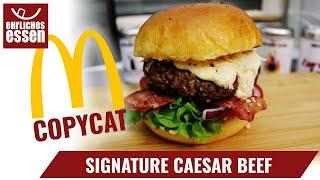 REZEPT: SIGNATURE CAESAR BEEF von MCDONALD'S - COPYCAT - schnell und einfach selber machen