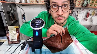 """I Tried """"Sous-Vide"""" to Temper Chocolate... (best move ever)"""