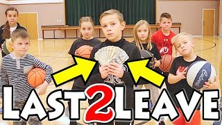 LAST TO LEAVE the Circle Basketball Challenge WINS $100,000......I mean $100 🏀