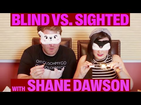 BLIND vs. SIGHTED: Who Has the Better Senses? (w/ Shane Dawson)