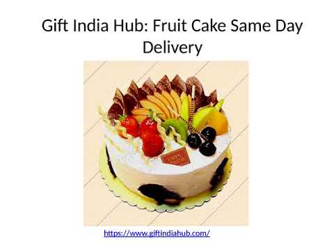 Same Day Cake and Flower Delivery In India