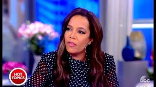 Sunny Brought To Tears Over TRUMPS Remarks About Haiti - The View