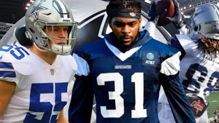 The Dallas Cowboys Training Camp    Trevon Diggs Got Heart & Leighton Vander Esch Big Hit!!! 2020