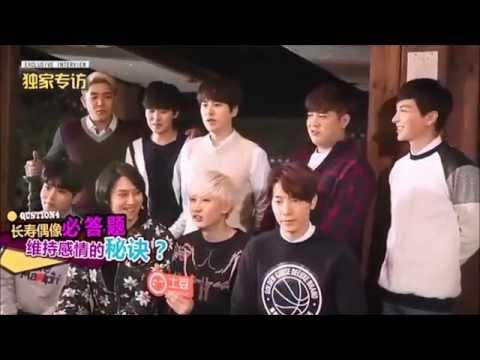 150126 Tudou Exclusive Interview with Super Junior