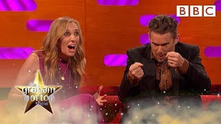 Ethan Hawke's co-star literally died on stage - The Graham Norton Show - BBC