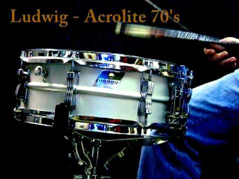Ludwig Acrolite snare vintage 70's