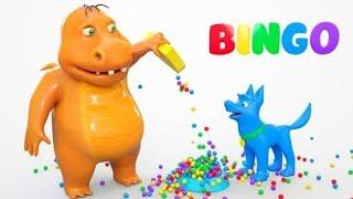 Bingo Dog and Dinosaurs W Dog Song | Zic Zic Nursery Rhymes Song #2