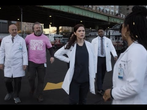 New Amsterdam 1x10 -- Max's Cancer Exposed