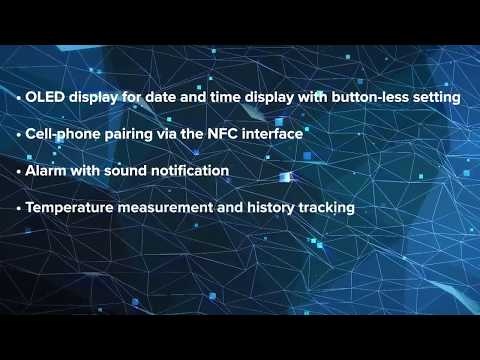 Demonstrating the LPC8N04 MCU-based IoT Sensor Node with Integrated NFC