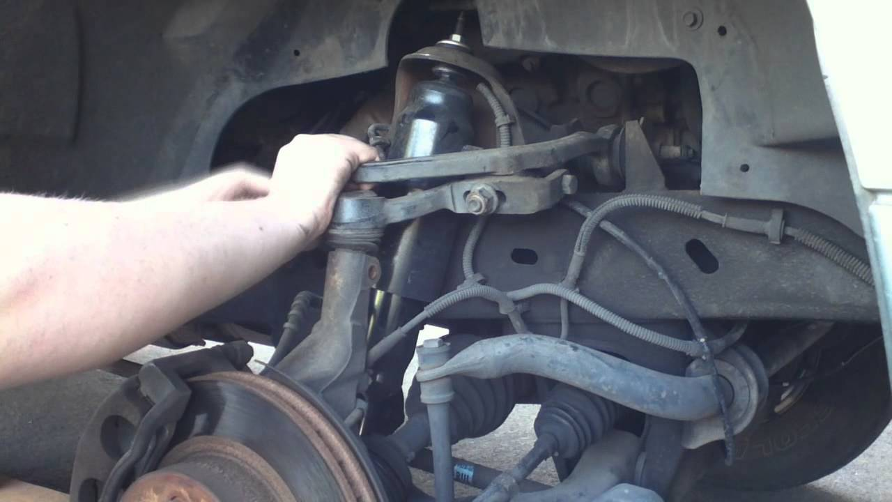 Upper Control Arm >> Ford Explorer Pass Side Ball Joint Replacement Part 1 ...