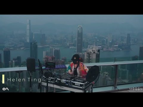 Helen Ting at Sky Terrace 428, The Peak - Hong Kong Sights and Sounds