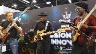 NAMM 2019 Marcus Miller, Richard Bona and Hadrien Feraud