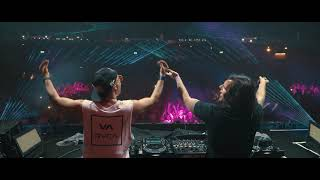 Dimitry Vegas & Like Mike - WAKANDA (WARRIORS Remix) Live