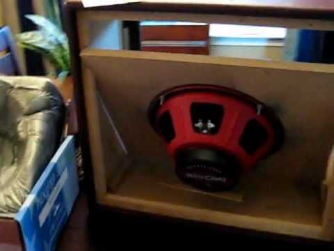 diy 1x12 guitar speaker cab 3 avi youtube. Black Bedroom Furniture Sets. Home Design Ideas