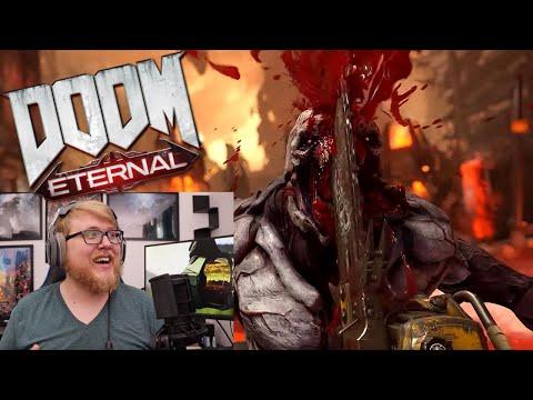 Doom Eternal E3 2019 Trailer Reaction ll Beard Reacts!