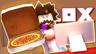 WORKING AT A PIZZA PLACE IN ROBLOX!