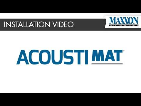 Acousti-Mat® Floor Underlayment Installation