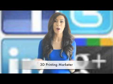 3D Printing Marketing Help Is Here