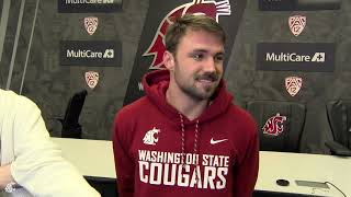 Gardner Minshew II after practice Dec. 13