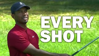 Tiger Woods 4th Round at the 2020 BMW Championship | Every Shot