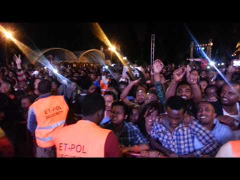 Teddy Afro - Tikur Sew - Last Night Wede Fikir Concert - April 26, 2014