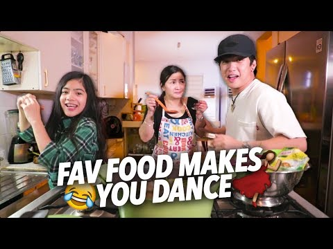 When Your Fav Food Makes You Dance   Ranz and Niana